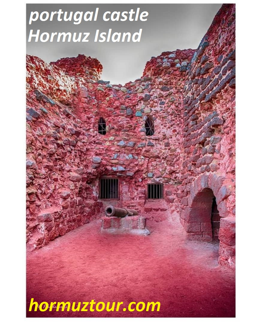 in hormuz island portugal castle